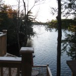 Parry Sound Deck Permit Dwg View from Upper Level