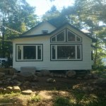 Lake of Bays Addtion - After Construction Side View