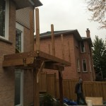 Aurora Deck During Construction Guard Posts In
