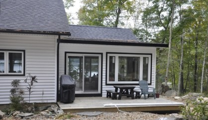 Lake of Bays Addtion - After Construction Front View