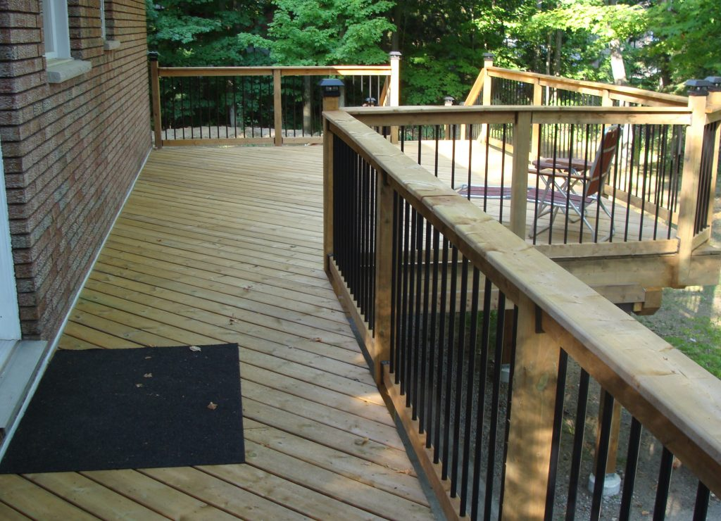 Tiny Deck After Construction From Deck