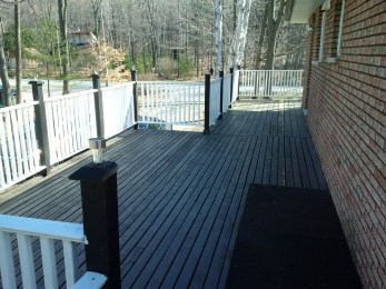 Tiny Deck Before Construction From Deck 2