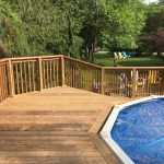 Keswick Pool Deck - After Construction Looking Towards Stairs