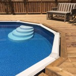 Keswick Pool Deck - After Construction Pool Edge