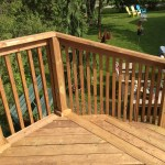 Keswick Pool Deck - After Construction Stairs From Upper Tier 2
