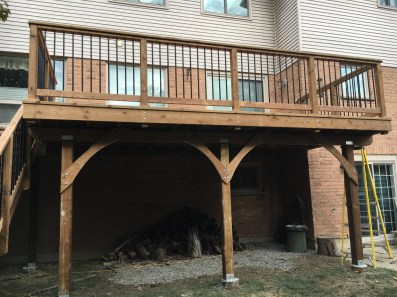 Delayne Drive Deck - After Construction Front View