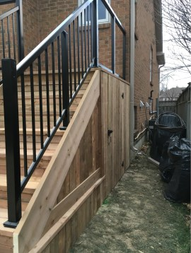 Keswick Deck 3 - After Construction Stair and Access