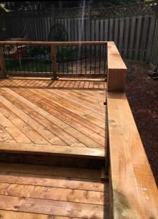 Aurora Deck - After Construction Looking Along Guard