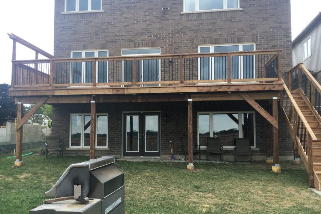 Keswick Deck 4 - After Construction Front View