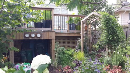 Niagara Deck - After Construction Front View
