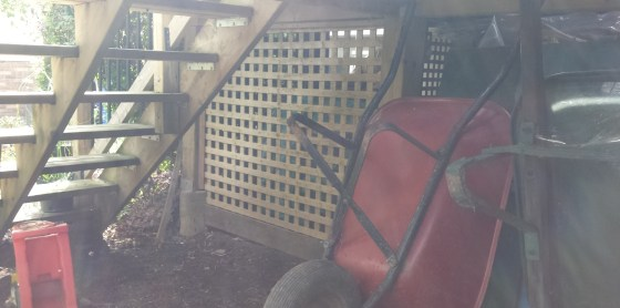 Niagara Deck - After Construction Under Stairs