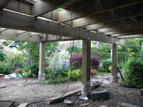 Niagara Deck - During Construction Under Deck 2