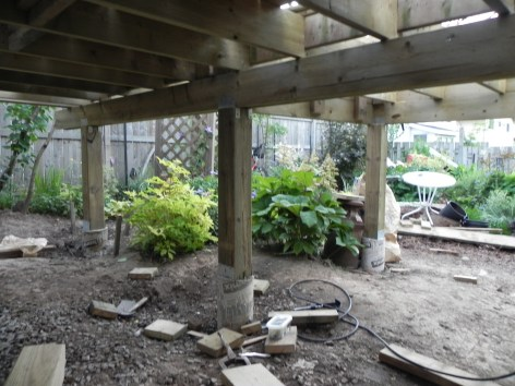 Niagara Deck - During Construction Under Deck 3
