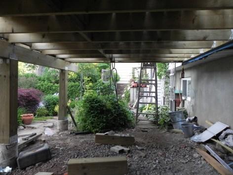 Niagara Deck - During Construction Under Deck