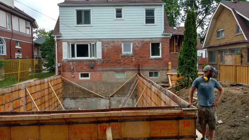 Toronto Addition - Excav