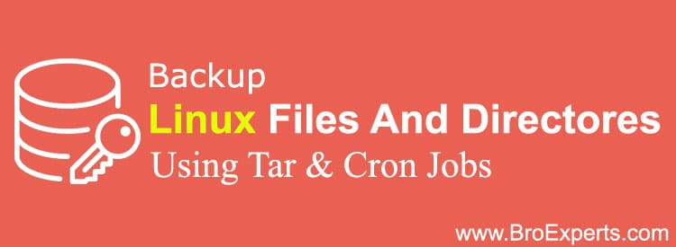 Backup Files and Directories in Linux