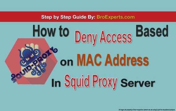 Mac restriction in squid proxy