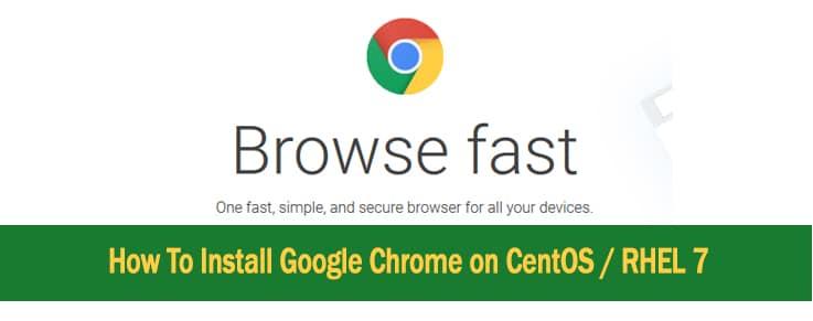 How to install Google Chrome on CentOS