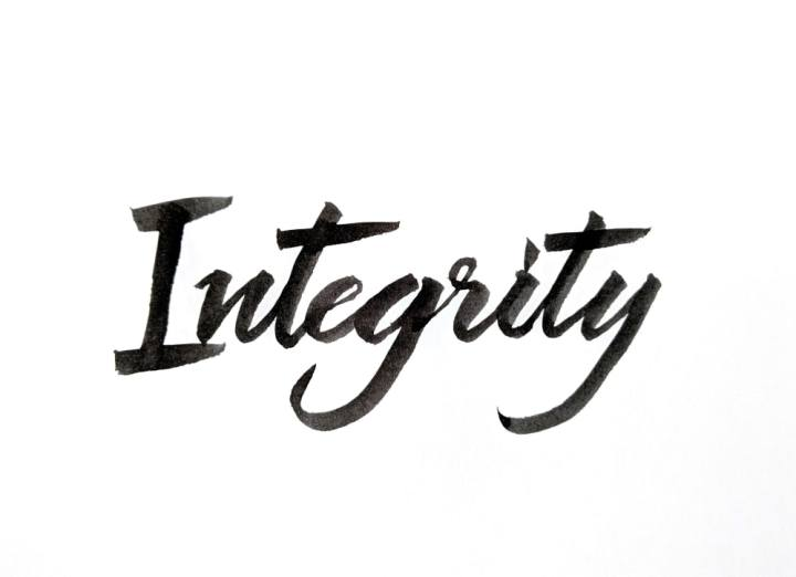 Integrity as a leader and entrepreneur!
