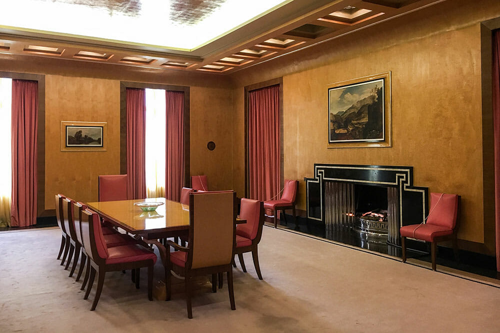 Eltham Palace Dining Room London UK