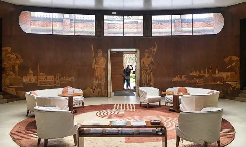 Eltham Palace Entrance Hall London UK