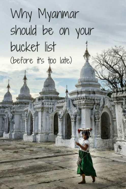 Myanmar bucket list