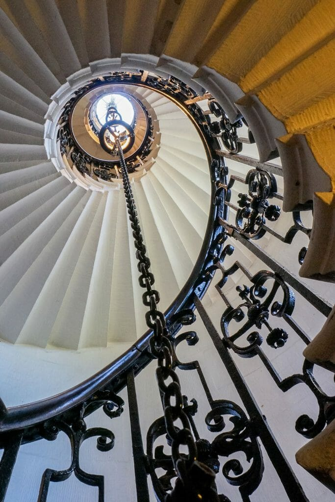 london greenwich naval college chapel staircase