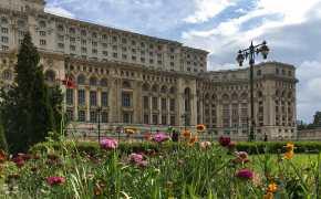 Bucharest Romania Palace Parliament