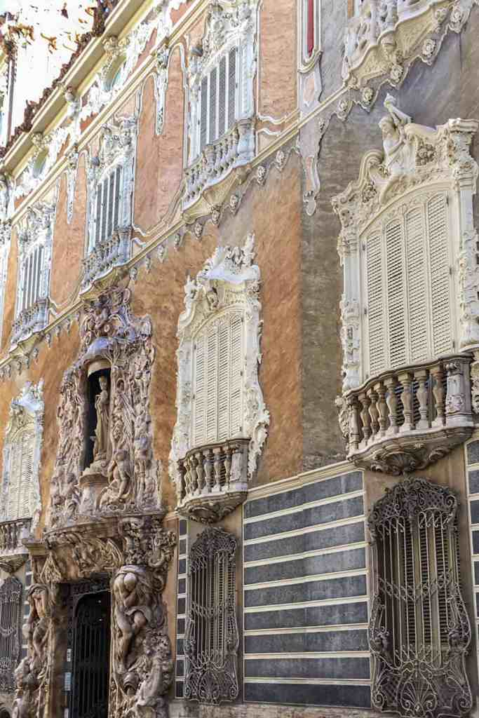 Exterior of the Rococo Marques de Dos Aguas Palace in Valencia - Things to do in Valencia