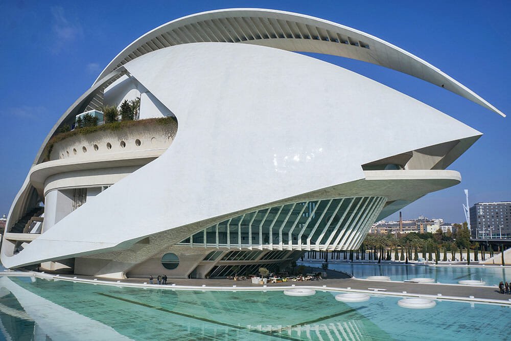 Palau de les Arts Reina Sofia in the City of Arts and Sciences in Valencia - Things to do in Valencia, Spain