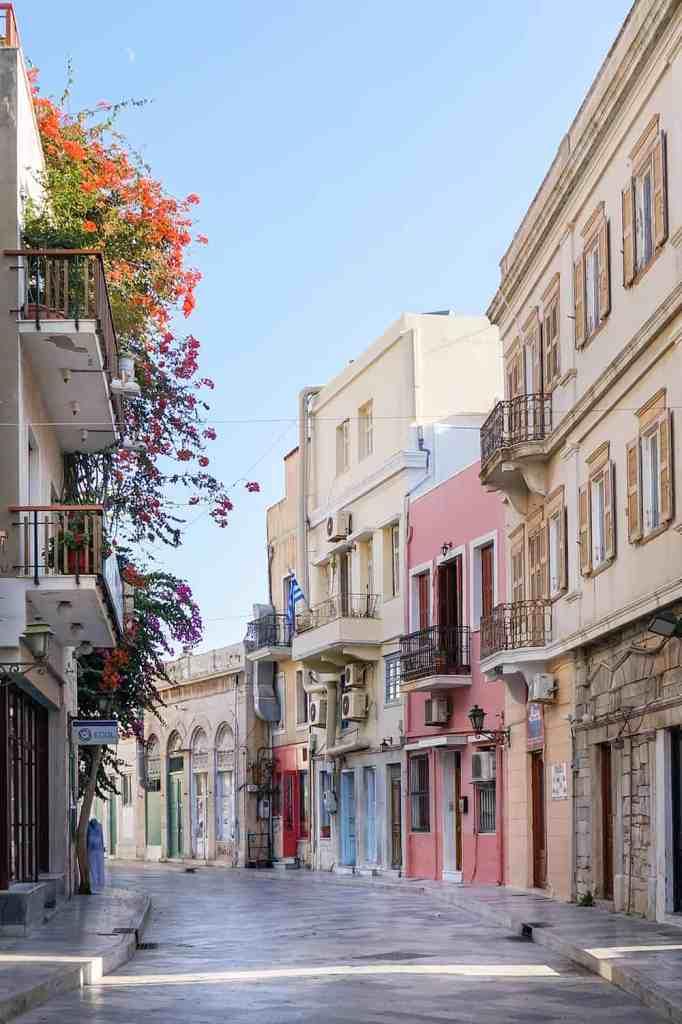 Ermoupoli Syros Greece