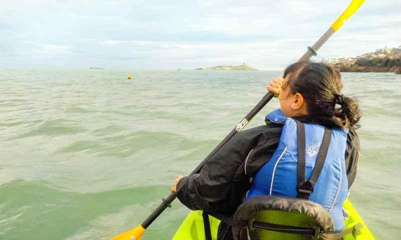 Adventure in Dublin Kayaking in Dalkey, County Dublin Ireland