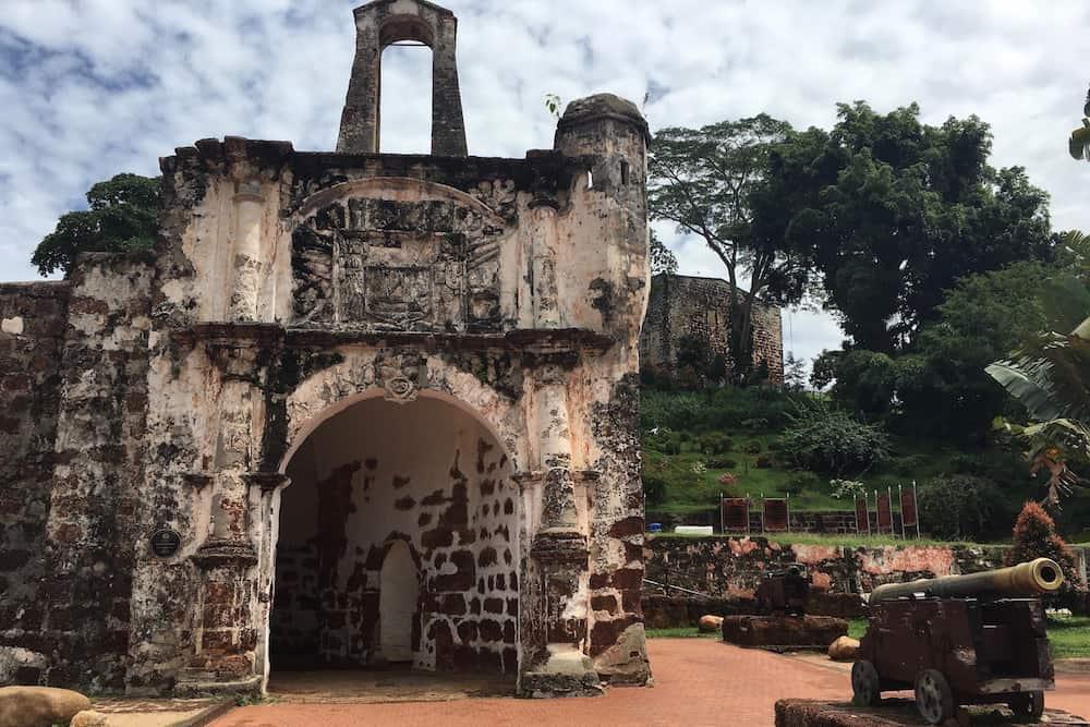 A Famosa in Malacca Malaysia