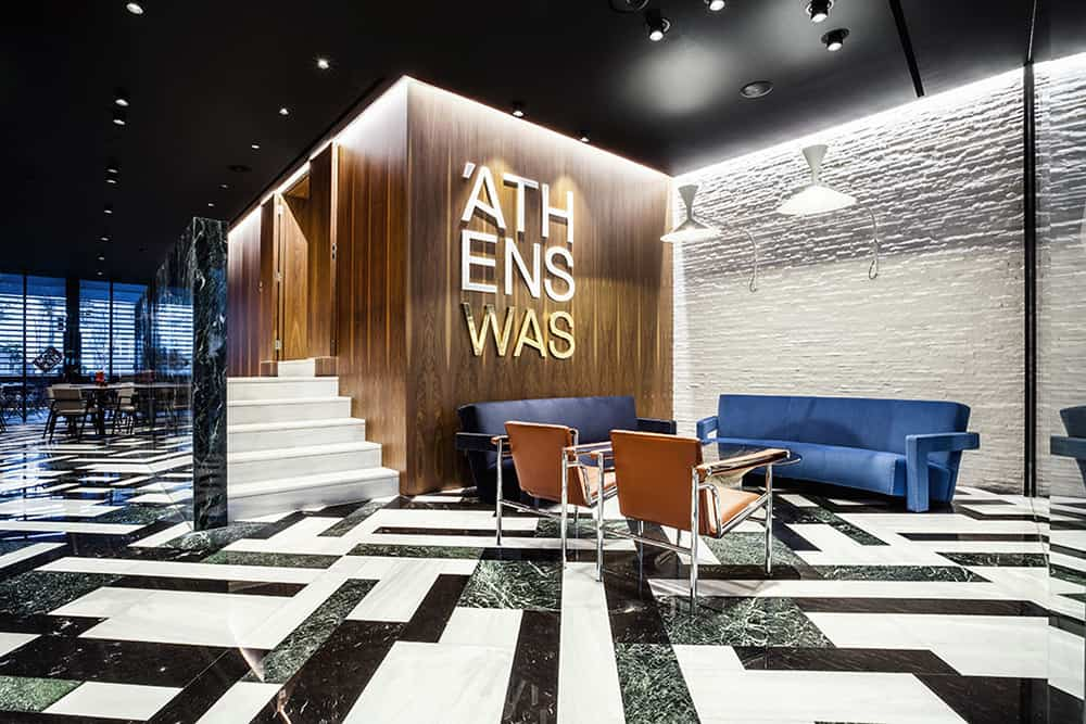 Athens Was Boutique Hotel Lobby
