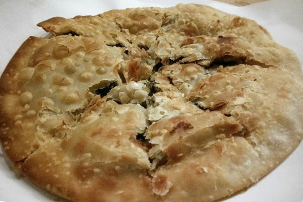 Greek Food Syros Marathopites Fennel Pie