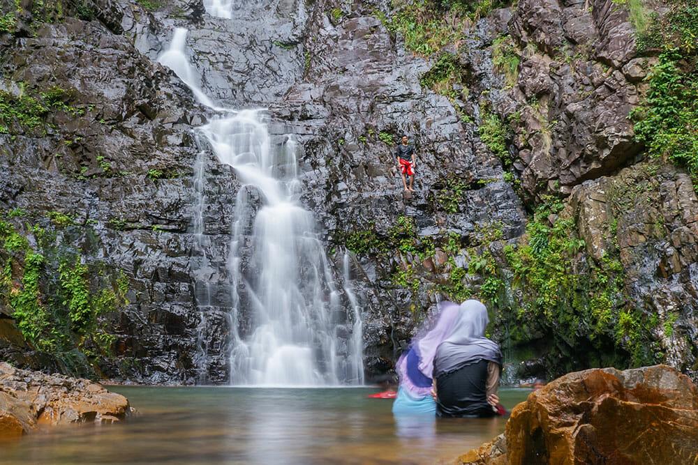 Seven Wells Waterfall, Langkawi Malaysia