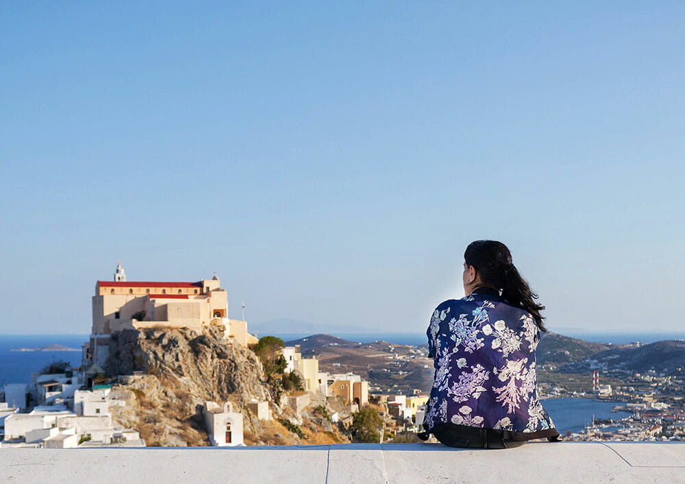 View over Ano Syros