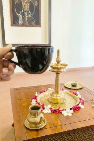 Post Ayurvedic Massage Tea, Ramada Cochin Resort