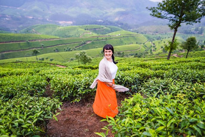 View of Lockhart Tea Plantation in Munnar, Kerala - #munnar #kerala #india