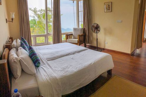The Planter's room at the Windermere Estate with the views of the Munnar mountains - #munnar #kerala #india