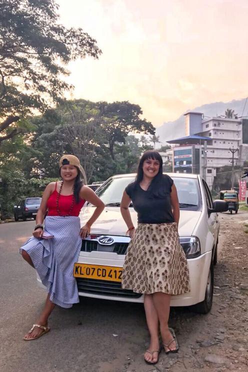 Portrait with the taxi from Kochi to Munnar - #munnar #kochi #kerala #india