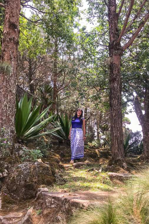Portrait in wooded area within Windermere Estate in Munnar - #munnar #kerala #india