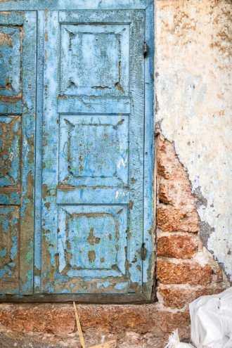 Beautiful decayed window in Kochi