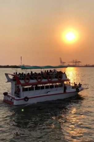 A sunset cruise is one of the must things to do in Fort Kochi