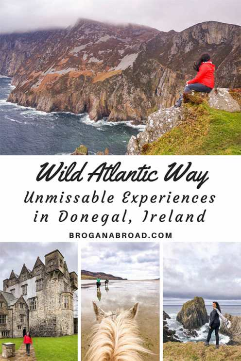Ten experiences along the Wild Atlantic Way in Donegal, that you must not miss and how to make the most of the Wild Atlantic Way route through Donegal. If you are planning a trip to the northernmost county in Ireland, check out my recommendations for the best things to do in Donegal, including where to stay, where to eat and the best Donegal tourist attractions!