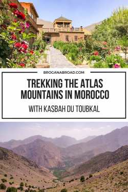 Trekking the Atlas Mountains with Kasbah du Toubkal, Morocco