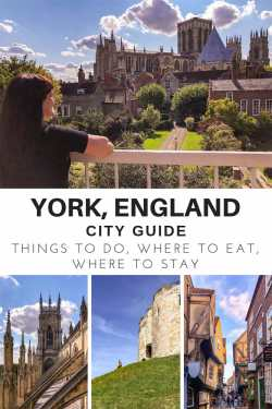 Things to do on a Weekend in York, England