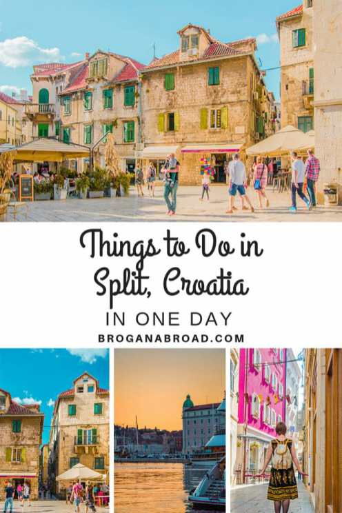 Best things to do and how to spend a day in Split, Croatia. If you're planning to do a day trip to Split or make Split your base to explore the region, here are some recommendations on how to make the most of a day in Split, including where to stay, what to eat and the best things to do in Split, Croatia. #Croatia