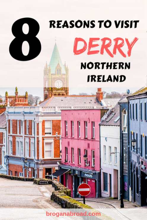 There's definitely something special about Derry ~ Londonderry, so here are a few reasons why you should include Derry in your Northern Ireland itinerary. #Derry #NorthernIreland