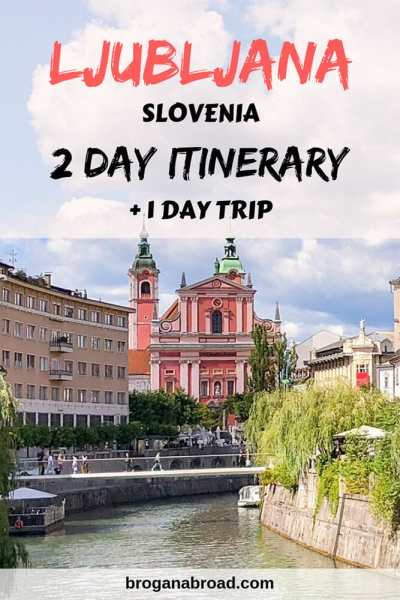 Itinerary for 2 days in Ljubljana + Postojna Cave and Predjama Castle